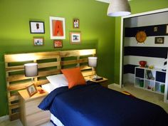 ReDo It: Upcycle Dressers, Headboards and Beds : Home Improvement : DIY Network, used as headboard