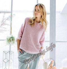 Пуловер (ж) 01*135 Phildar №4785