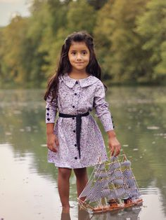 Little girl dress or blouse sewing pattern