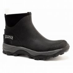 Ranger Pike Fleece-Lined Waterproof Ankle Boots Black CHINA