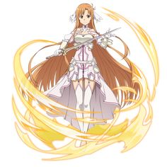 Sword Art Online Wallpaper, Sword Art Online Asuna, Small Canvas, Kirito, Anime, Guilty Pleasure, Magical Girl, Character Design, Cosplay