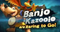 Banjo-Kazooie joins the fight in Super Smash Bros. Ultimate: Banjo-Kazooie joins the fight in Super Smash Bros. Super Smash Bros, Nintendo Switch Trailer, Banjo Kazooie, Video X, Dragon Quest, Breath Of The Wild, Nintendo 64, Mind Blown, Xbox