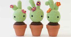 Tutorial en PDF Bébé Cactus au crochet bien détaillé à télécharger gratuitement. Ce document explique comment réaliser un Bébé Cactus au crochet facilement , avec des images bien illustrées.