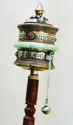 Hand Prayer Wheel