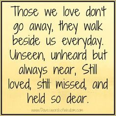 in memory quote - Google Search