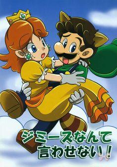 Mario Brothers Doujinshi - I Won't Let You Say Jimmy's! (Luigi x Princess Daisy)