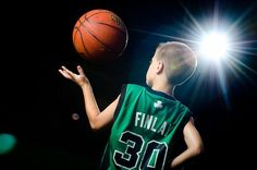 A new more creative way to take kid's basketball pictures. Follow the link for a tutorial on how to get these types of pictures.