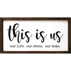 Wood Signs Sayings, Diy Wood Signs, Vinyl Signs, Sign Quotes, Wooden Signs For Kitchen, Home Sayings, Home Decor Signs, Room Signs, Diy House Signs