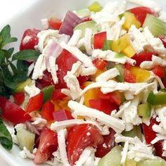 Egy finom Az eredeti bolgár sopszka saláta ebédre vagy vacsorára? Az eredeti bolgár sopszka saláta Receptek a Mindmegette.hu Recept gyűjteményében!