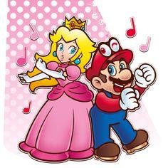 Mario y Peach