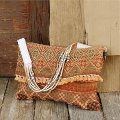 Bear Creek Indian Inspired Tote, Rugged Vintage Bags & Totes