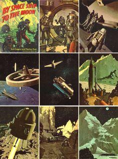 Jack Coggins Space Prints