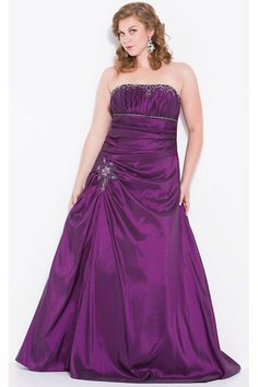 Nox Nariana W237 Wide Waist Plus Size Evening Dress. Featuring vertical pleat top contrasting pleats at waist taffeta long gown. Chat with us at http://messenger.providesupport.com/messenger/therosedress.html?ps_s=4bE8rspYpohy