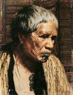 History of the Academy Maori Face Tattoo, Maori People, But Is It Art, Maori Designs, New Zealand Art, Nz Art, Portrait Art, Portraits, Maori Art