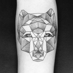 El Lobo. #tattoo #tattoos #tattooartist #miami #miamiart #miamiartist #miamitattoo #miamitattoos #art #artist #miamitattooartist #regperez #femaletattooartist #tattoodesign #wolf #wolftattoo #geometricalwolf #forearmtattoo #stippletattoo #stippletattoomiami #dotworktattoo #dotworktattoomiami