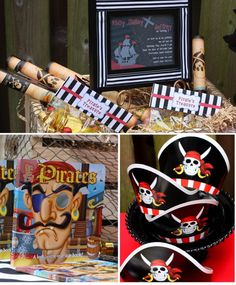 Pirate party - like the idea of reading a pirate story to the kids