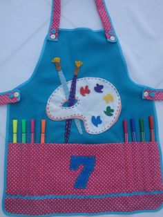 avental infantil children apron.09                                                                                                                                                                                 More