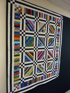 Strip Quilt | Flickr - Photo Sharing!