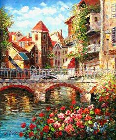 Oil Paintings From | Oil Painting-Landscape Venice (7896533) - China oil painting,gift