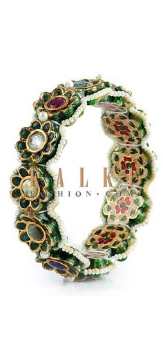 Buy Online from the link below http://www.kalkifashion.com/traditional-floral-bracelet.html