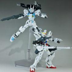 HG 1/144 RXF91 Silhouette Gundam / F70 Cannon Gundam New - Custom Build     Modeled by genesisggg
