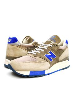 NEW BALANCE FOR J.CREW (ニューバランス) 998 SNEAKERS ジェイクルー別注 スニーカー GREY/BLUE