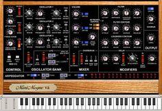 Minimogue VA, Free Synth plugin, Download Minimogue VA plugin, Free Volt Kitchen Group vst plugins