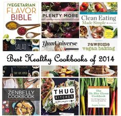 Best Healthy Cookbooks of 2014