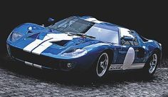 1965 ford gt40 endurance racing coupe