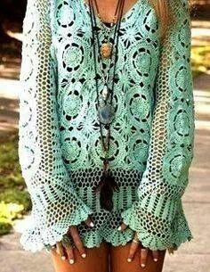 Crochet. ....Ibiza Market Shop