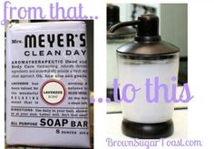 How to make a gallon of liquid soap from 1 bar. Easy peasy & a major savings!