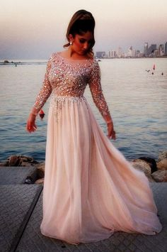 Sparkly Prom Dress, long sleeve prom dress fashion prom dress chiffon prom dress long prom dress custom prom dresses sexy prom dress 16190 , These 2020 prom dresses include everything from sophisticated long prom gowns to short party dresses for prom. Pretty Prom Dresses, Prom Dresses 2016, Elegant Prom Dresses, Chiffon Evening Dresses, Pink Prom Dresses, Cheap Prom Dresses, Dresses For Teens, Sexy Dresses, Dress Outfits