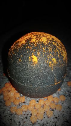 All Hallows Eve Licorice Scented Halloween Themed Bath Bombs with Pumpkin Sprinkles Inside, Black Bath Bomb, Halloween Bath Bomb! by TheMADbombers on Etsy https://www.etsy.com/uk/listing/276705746/all-hallows-eve-licorice-scented