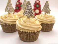Cupcakes de turrón - MisThermorecetas.com