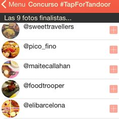 "Sweet Travellers  en Instagram: ""We are one of the finalists of #tapfortandoor  Do you know already about the app @tapformenu❓Amazing tool to book easily your restaurants around Barcelona ☺️"""