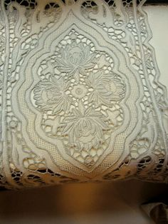 French Cut Work Linen Placements & Napkins by JewelsOfHighElegance, $120.00