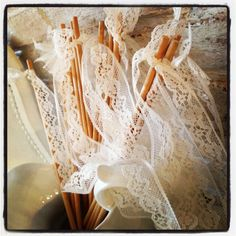 Want to use this lace around my centrepiece cases and 2 tiers on my cake...around my bouquet as well?