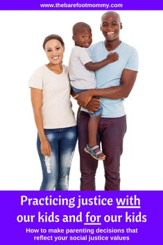 How can we seek justice with our kids and for our kids? Discover 4 real life examples of making parenting decisions with justice in mind.