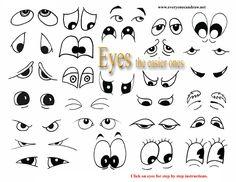 secondary eyes easiest