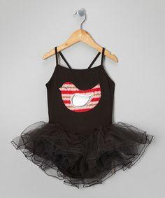 Loving this Black & Pink Birdie Tutu Leotard - Toddler & Girls on #zulily! #zulilyfinds