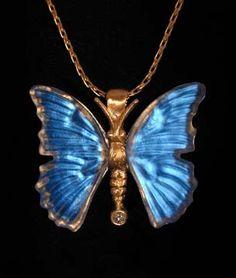 Matt Bezak - Butterfly Pendant
