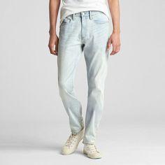 Gap Men's Wearlight Slim Jeans With Gapflex Light Bleached Gap Men, Slim Jeans, Nike, Indigo, Tights, Michael Kors, Fitness, Cotton, How To Wear