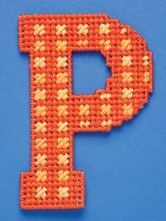 Cut from 7-count plastic canvas, these letters can be joined to spell out welcome signs, nameplates for children's rooms, crib mobiles, gift baskets, party decorations and many other imaginative adornments. Instructions include stitch pattern guides ... Plastic Canvas Letters, Plastic Canvas Stitches, Plastic Canvas Crafts, M Craft, Craft Sale, Tissue Box Covers, Tissue Boxes, Bead Kits, Polymer Clay Charms