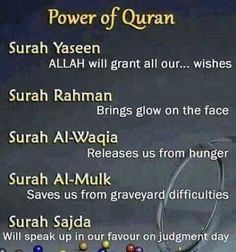 Power of Quran.