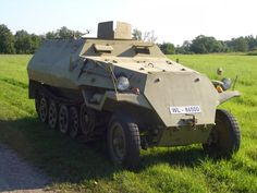 For Sale: OT-810 Half-Track Restored as German SdKfz 251 in Working Condition, just 40,000 €: http://ww2live.com/en/content/world-war-2-sale-ot-810-half-track-restored-german-sdkfz-251-working-condition-just-40000
