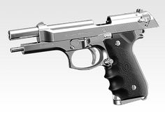 Tokyo Marui No. 12 M92F Chrome Stainless color Gas blow back gun #081 #TokyoMaruiLoading that magazine is a pain! Excellent loader available for your handgun Get your Magazine speedloader today! http://www.amazon.com/shops/raeind