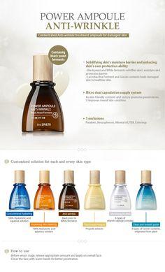 The Saem Power Ampoule Anti-wrinkle 40ml - The Saem Beautynetkorea Korean cosmetic