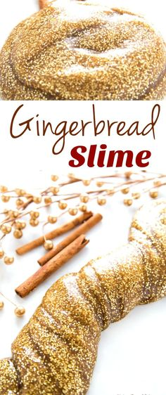 How to Make The Best Gingerbread Slime Recipe, Easy Slime Recipe, The Best Slime Recipes, Perfect Homemade Slime, Scented Slime Recipes for Kids, Winter Sensory Play, Jiggly Slime Recipe #Slime