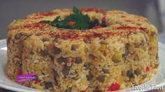 Ezogelin Pilavı Veggie Recipes, Vegetarian Recipes, No Gluten Diet, Turkish Recipes, Ethnic Recipes, Eid Food, Turkish Kitchen, Rice Dishes, Food To Make