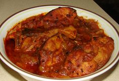 Spicy Indian Fish Curry